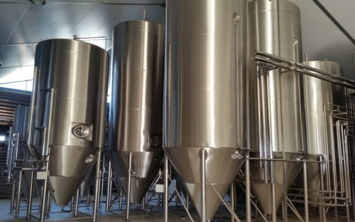 Craft Beer Fermentation Tanks 1