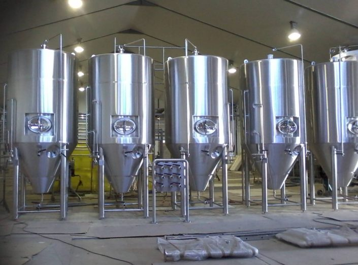 Craft Beer Fermentation Tanks