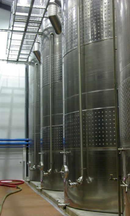 Double Compartment White Wine Storage Tanks