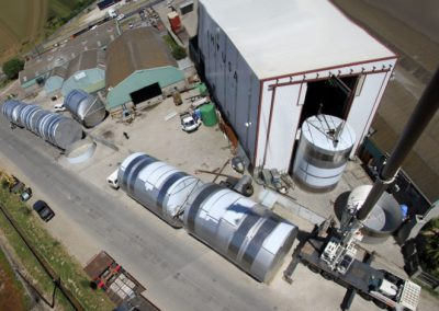 Our Factory Aerial View